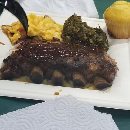 Convention Center: a plate of food offered for sale in the EssenceEats area (July 2019)