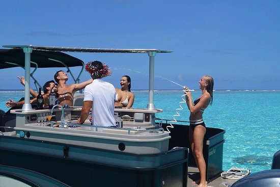 Toa Boat Bora Bora Vaiana Lagoon