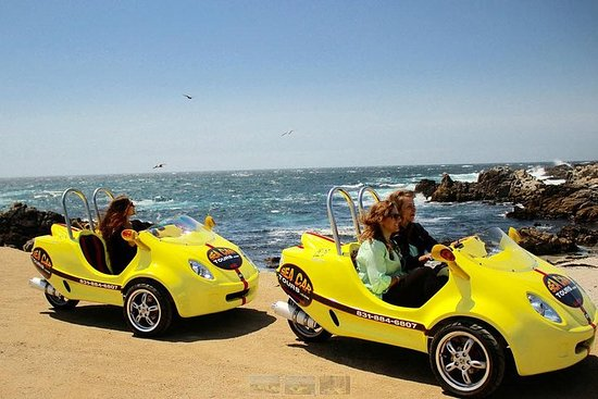 Tour di 1 ora a Monterey e Cannery Row Sea Car