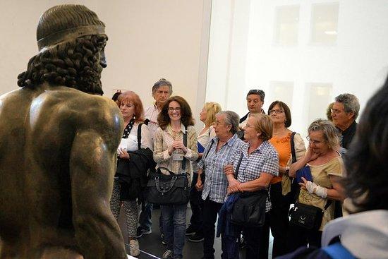 Visita guiada a los bronces de Riace...