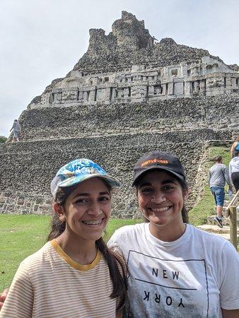 Spectacular Xunantunich Mayan ruins