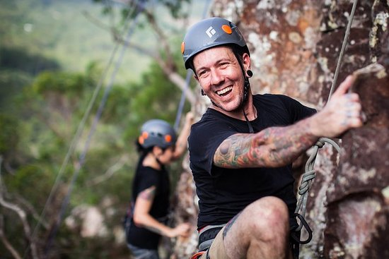 Glass House Mountains Rock Climbing Experience
