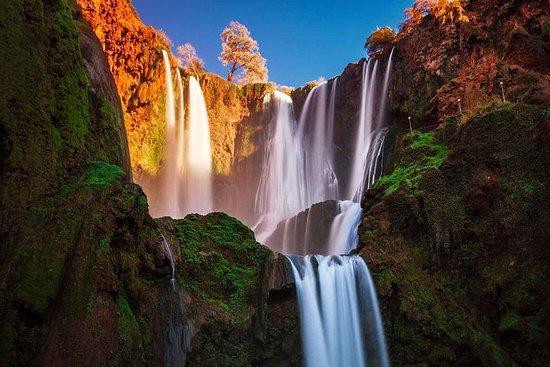Ouzoud Wasserfälle und Atlasgebirge