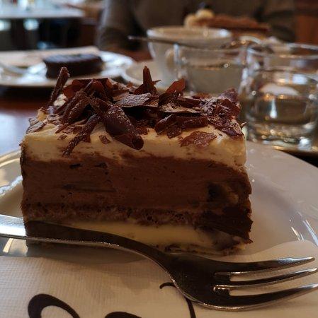 chocolate-banane cake