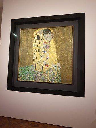 Klimt- Il bacio
