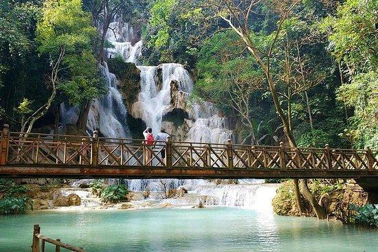 Billet de minibus à cascade de Kuang...