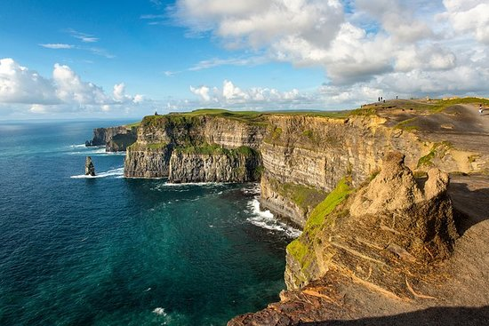 Tågresa till Limerick, Cliffs of ...