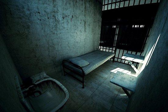 A prisão assombrada