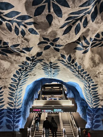 Provincia de Estocolmo, Suecia: T-Centralen Station. Stockholm, Sweden. 10/11/2019