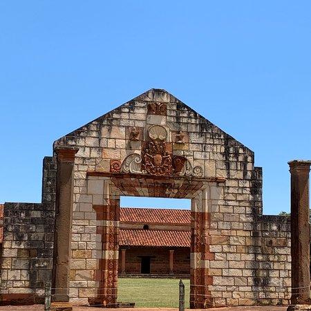 San Cosme y Damian, Paraguay: Puerta de acceso a las misiones