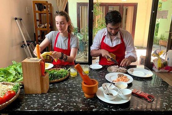 Cozinhando com Jolie em Hoi An