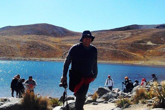 Nevado de Toluca (Promenade dans les lagons du soleil et de la lune)