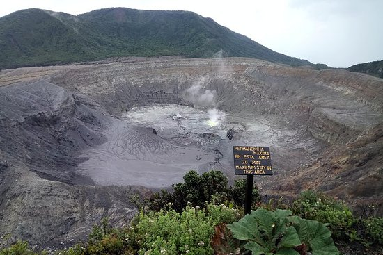 Poas-vulkaan Halve dag