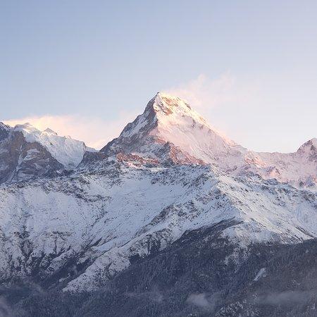 Sunrise at Poon Hill, Annapurna 5 January 2020. Visit Nepal!