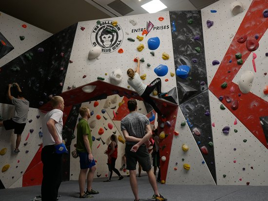 ‪The Ballroom Climbing Wall‬