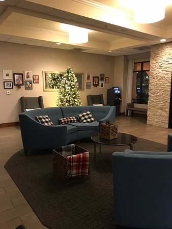 Such a welcoming lobby!