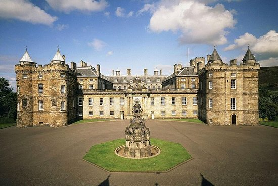 Eintrittskarte für den Holyrood Palace
