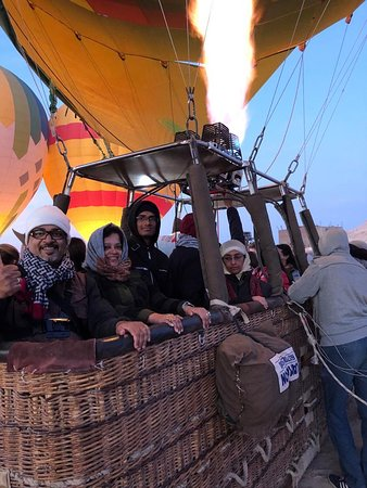 Hod-Hod Soliman Sunrise Hot Air Balloon Rides Luxor, Egypt: about to rise !