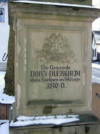 Dorn-Duerkheim, เยอรมนี: Denkmal Dorn Dürkheim