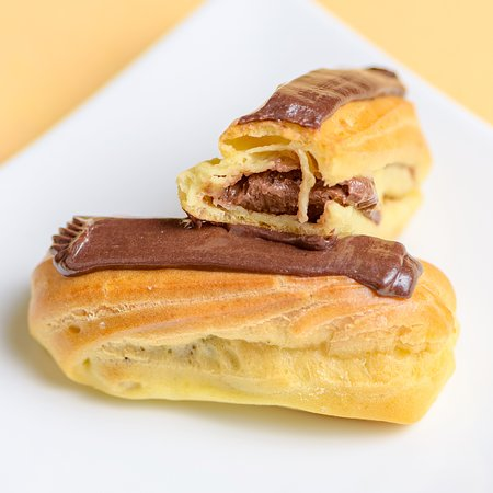 Our Chocolate Eclairs are absolutely divine!