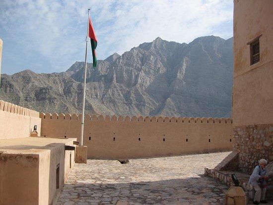Bukha, Oman: inside view