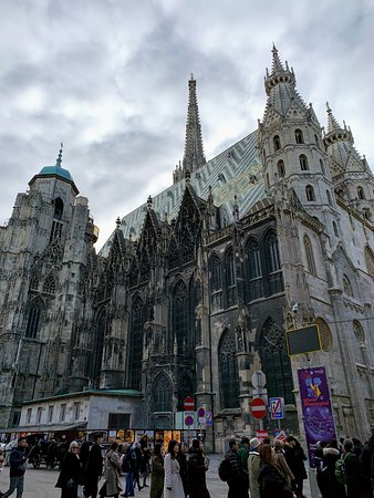 Outside of St. Stephen's Cathedral