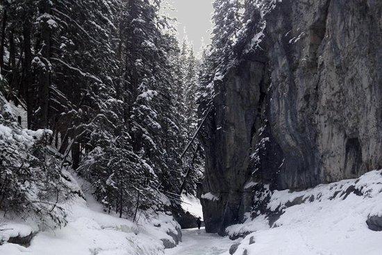 Inverno canadense montanhas rochosas...