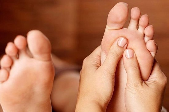 Reflexologia (massagem nos pés)