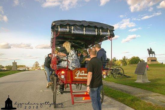 Tour guidato in carrozza di Gettysburg con campo di battaglia con