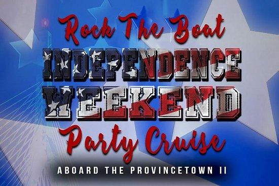Rock the Boat: Självständighet Weekend Party Cruise ombord Provincetown II-bild