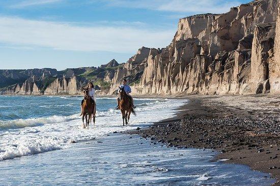 Passeios a cavalo para a praia de Eros