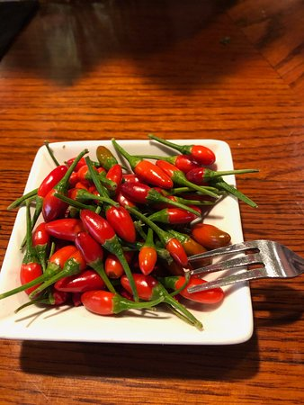Bar Candy (HA!)  Calabrian Peppers...Watch Out!