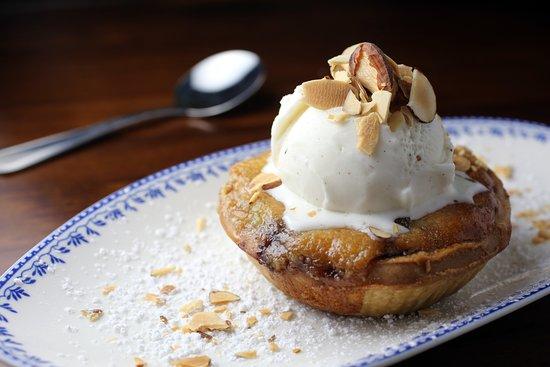 Apple Almond Tart
