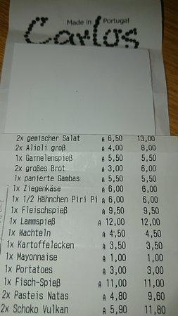 CARLOS Schwerte - moderate Preise.