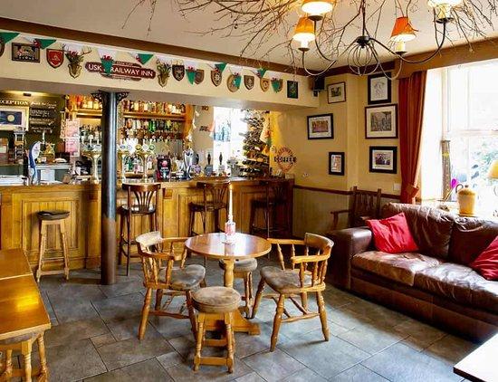 Beautiful bar area