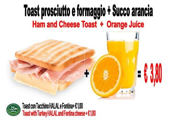 un ottima colazione per iniziare la giornata al meglio ...