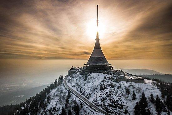 De Prague: visite guidée en verre soufflé en hiver