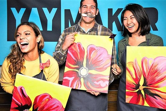 The Original Paint Nite Newark by Yaymaker