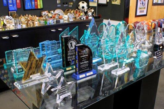 เดวี, ฟลอริด้า: Acrylic Awards, Corporate Awards, Business Awards
