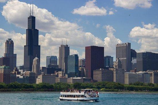 Chicago Lake und River Architecture...