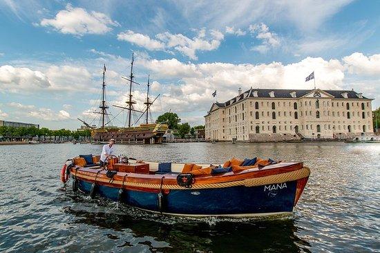 新規:アムステルダム国立美術館から始まる1,5時間の豪華運河クルーズ