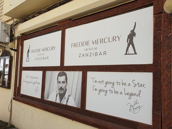 Stone town tour: Freddie Mercury Museum