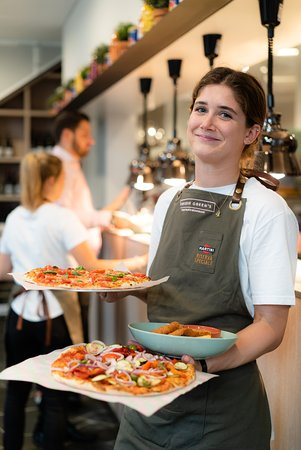 Friendly staff & delicious pizzas