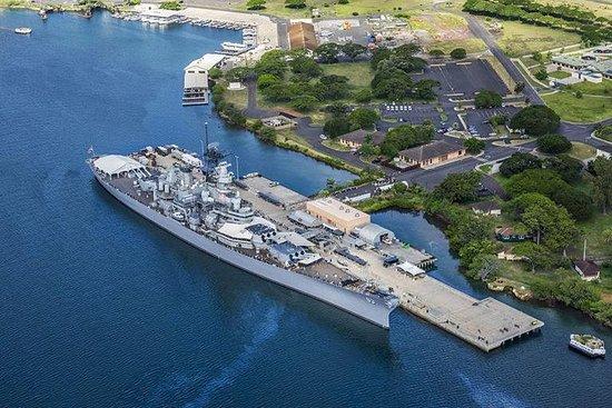 Viagem de um dia por Pearl Harbor...
