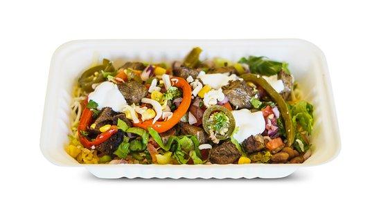 Barbacoa burrito bowl