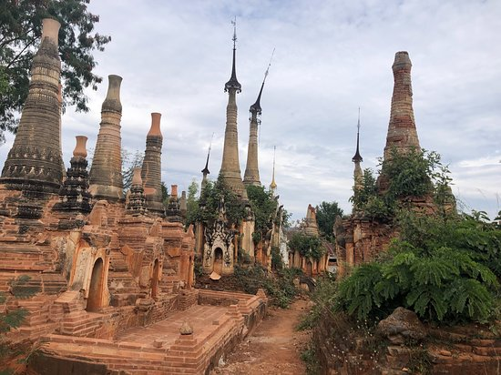 Myanmar Tour 10N/11D: 1.5 hrs boat trip just South-West of Inle Lake.