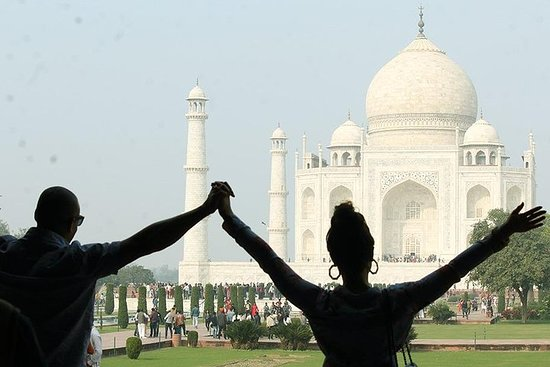 Full-Day Private Taj Mahal Tour by Car...