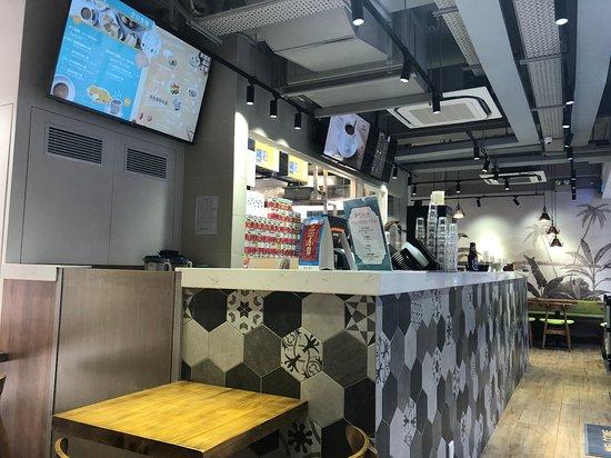 Nanyang Kopi - order counter