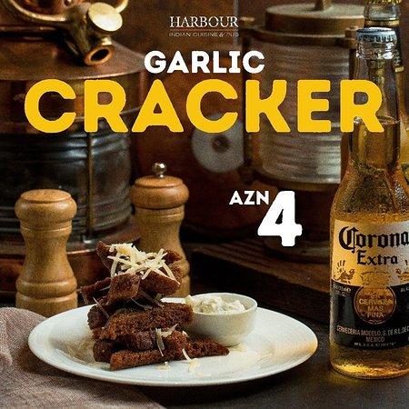 Надежная защита вашего иммунитета и любимое дополнение к пенному - пикантные #GarlicCrackers 🍺 ~ Reliable protection of your immune system and a favorite addition to the foam beer is delicious #GarlicCrackers 🍺 HARBOUR Indian Restaurant & Pub 📍 Port Baku, 153 Neftchilar ave., Baku, Azerbaijan ☎ +994(12)4048205 📱 +994(50)5465500 🌐 www.harbour.az