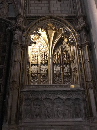 Side ornate carvings
